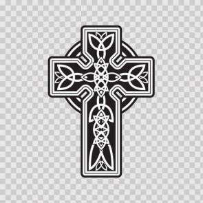 Ireland Celtic High Detail Cross Graveyard 03661