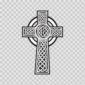 Ireland Celtic High Cross Graveyard 03662