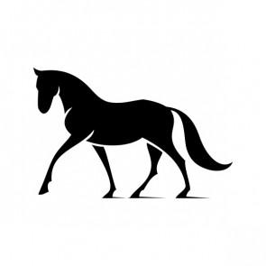 Elegant Horse Figure 03718