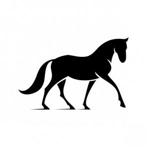Elegant Horse Figure 03719