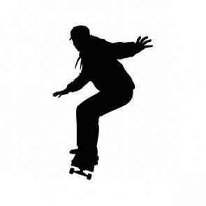 Skateboard Girl Figure 04220