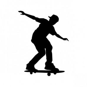 Skateboard Figure 04225