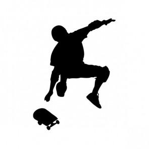 Skateboarder 04226