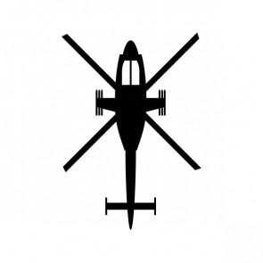 Military Air Force Helicopter 04248