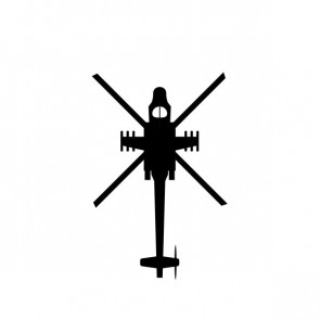 Military Air Force Helicopter 04249