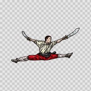 Martial Arts Warrior 04563