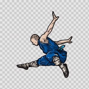 Martial Arts Warrior 04564