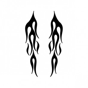 Pair Of Flames 04570