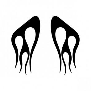 Pair Of Flames 04574