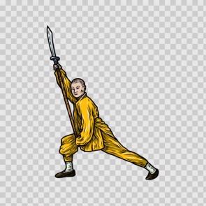 Martial Arts Warrior 04600