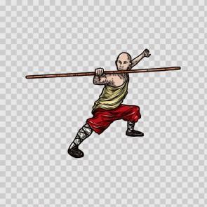 Martial Arts Warrior 04601