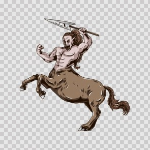 Horse-Man Creature 04680