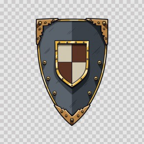 Middle Ages Knight Shield 04837