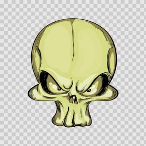 Cartoon Skull 04953