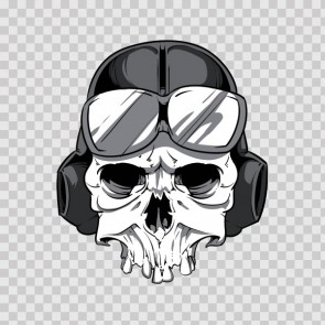 Pilot Skull 04969
