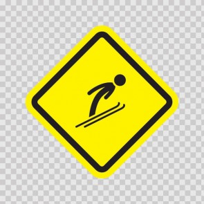 Ski Sports Area Sign 05003