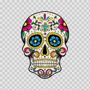 Floral Skull 05194