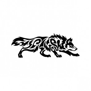 Tribal Wolf Attack 05249