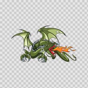 Green Dragon Flames 05631