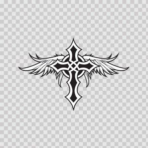 Celtic Cross With Angel Wings 05768