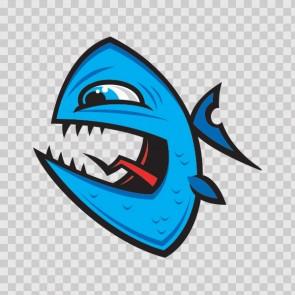 Angry Piranha Fish 06032