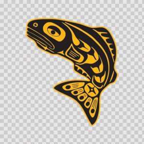 Ancient Aztecs Native Fish  06033