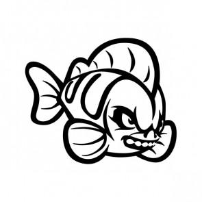 Wild Cartoon Fish Attack 06052