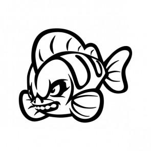 Wild Cartoon Fish Attack 06053