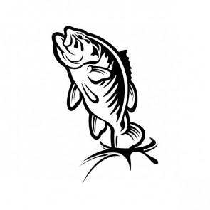 Bass Fish Jumping 06078