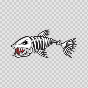 Fish Skeleton Bones 06157