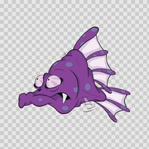 Deep-Sea Abyss Cartoon Fish 06240