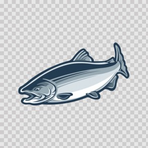 Salmon Fish 06248