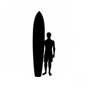 Surfer Standing Figure 06307