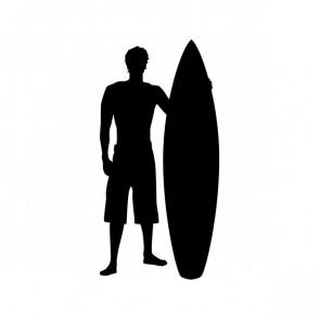 Surfer Standing Figure 06310