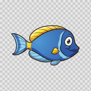 Cartoon Aquarium Fish 06345