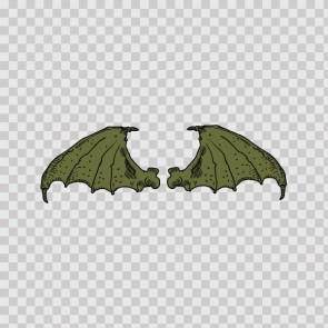 Pair Of Wings Bat Dragon 06654