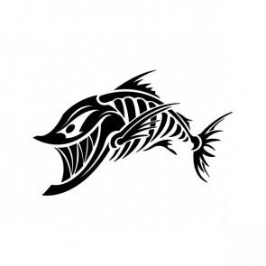 Angry Fishbone Figure 07043