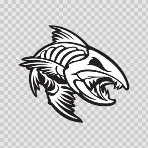 Angry Fishbone Figure 07047