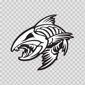 Angry Fishbone Figure 07048
