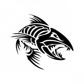Angry Fishbone Figure 07049
