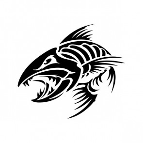 Angry Fishbone Figure 07050