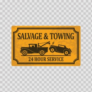 Vintage Sign Salvage And Towing 07584