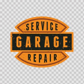 Vintage Sign Service Garage Repair 07587