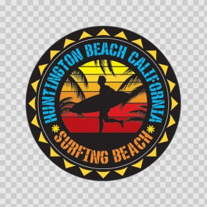 Huntington California Souvenir Memorabilia Surfing Beach 07655
