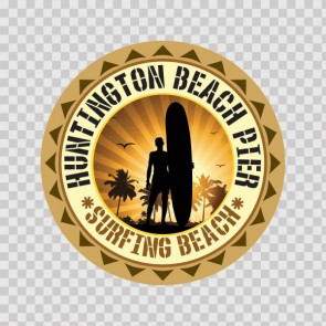 Huntington Beach Pier Souvenir Memorabilia Surfing Beach 07841
