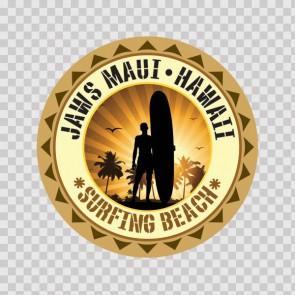 Jaws Maui Hawai Souvenir Memorabilia Surfing Beach 07848