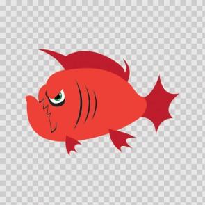 Mad Piranha Fish 07877
