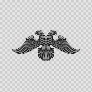 Heraldic Eagle Grey 07934