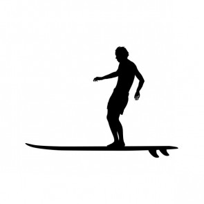 Surfer Figure In Action 07947