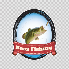 Bass Fishing Sign 08072